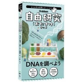学研ステイフル 自由研究おたすけキット DNAを調べよう 【返品種別B】