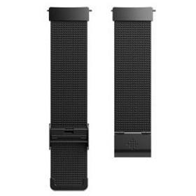 フィットビット Versa専用 交換用リストバンド メタルメッシュブラックFitbit Versa FB166MMBK 返品種別A