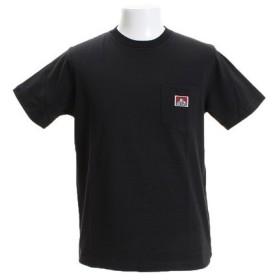 BEN DAVIS BD ピスネーム ポケTシャツ 8580011-BLK (Men's)