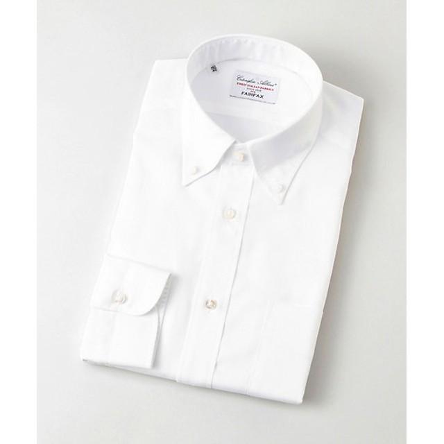 <フェアファクス/FAIRFAX> ボタンダウン/ロイヤルオックスシャツ(03000B) ホワイト 【三越・伊勢丹/公式】