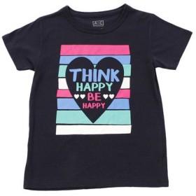 クー(Coo.) ガールズ セットイン半袖Tシャツ 865Q8RY5723 NVY (Jr)