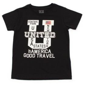 クー(Coo.) ボーイズ セットイン半袖Tシャツ 865Q8RY5709 LK (Jr)