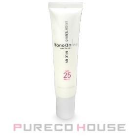 ニューウェイジャパン ナノアミノ ブライトニング ミルク UV (顔用美容乳液) SPF25・PA+++ 30g【メール便可】