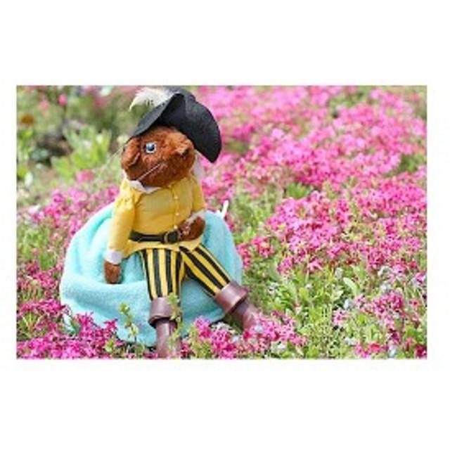 布おもちゃ 布人形  変身人形  フリップオーバードール  長ぐつをはいたねこ  人形劇  童話の世界  幼児教育