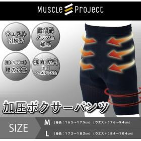 棚橋弘至のマッスルプロジェクト muscle project 加圧インナー メンズ ボクサーパンツ