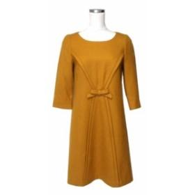 STRAWBERRY-FIELDS ストロベリーフィールズ リボンワンピース (ドレス フェミニン) 114576【中古】