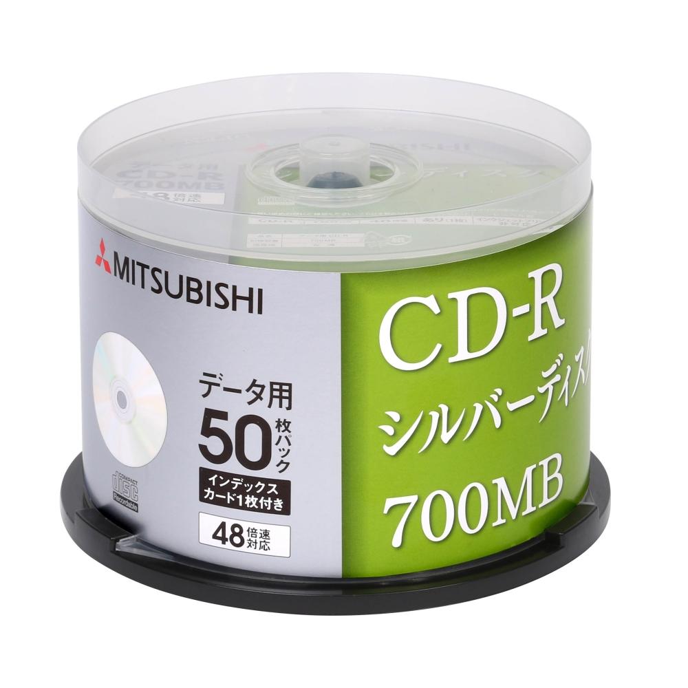 三菱 日本版 48x CD-R 白金片 原廠50片布丁桶裝