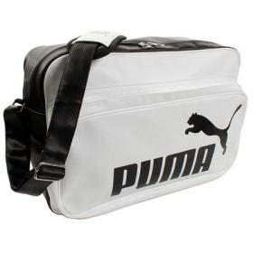 プーマ(PUMA) エナメルバッグ トレーニングPUショルダー Lサイズ 075371-03 WHT (Men's、Lady's、Jr)