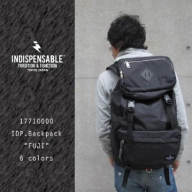 61e3598ff1bb リュック 黒 INDISPENSABLE インディスペンサブル レディース メンズ リュックサック デイパック