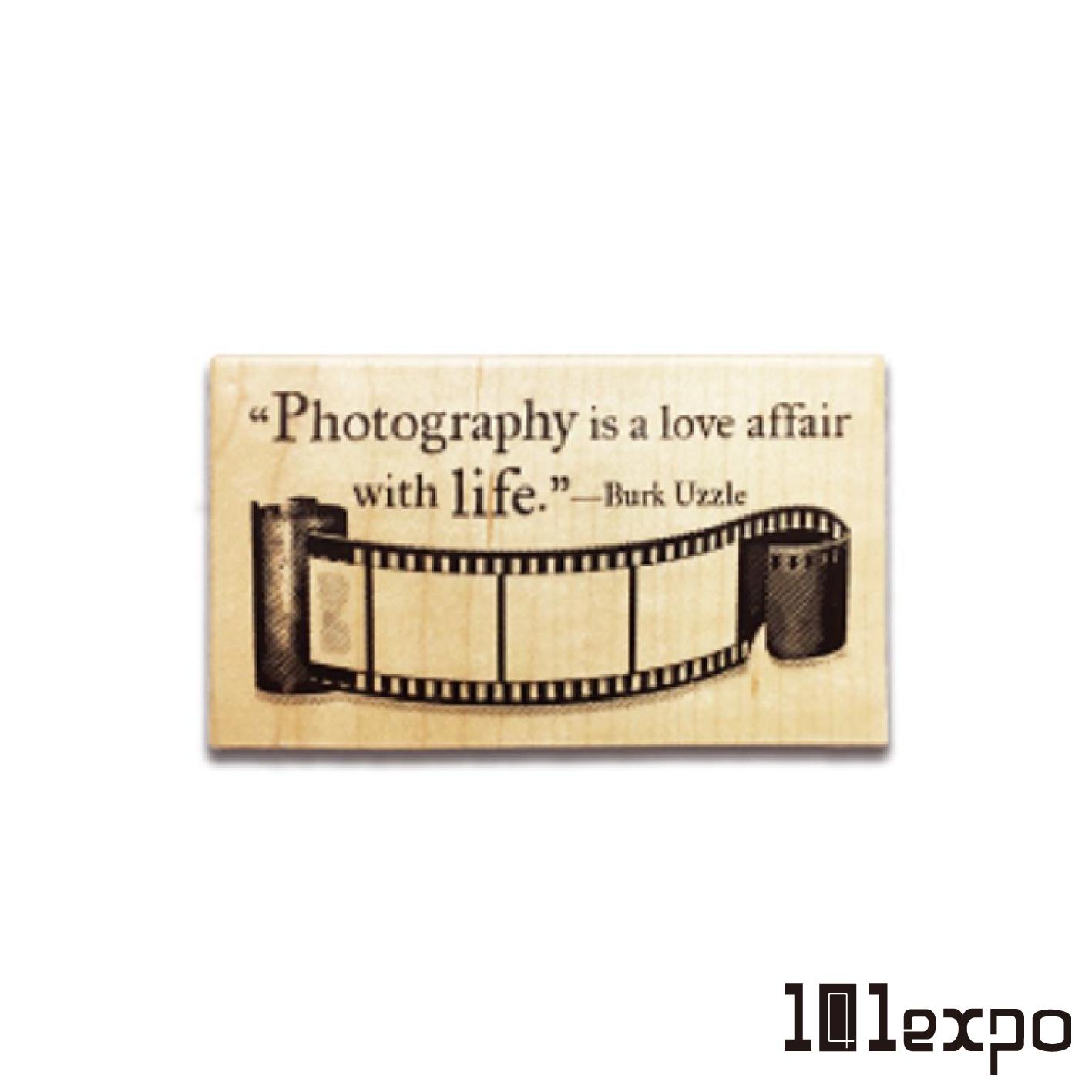 寫筆記 楓木印章 (Write your story / Writing Pad / Photography Life)