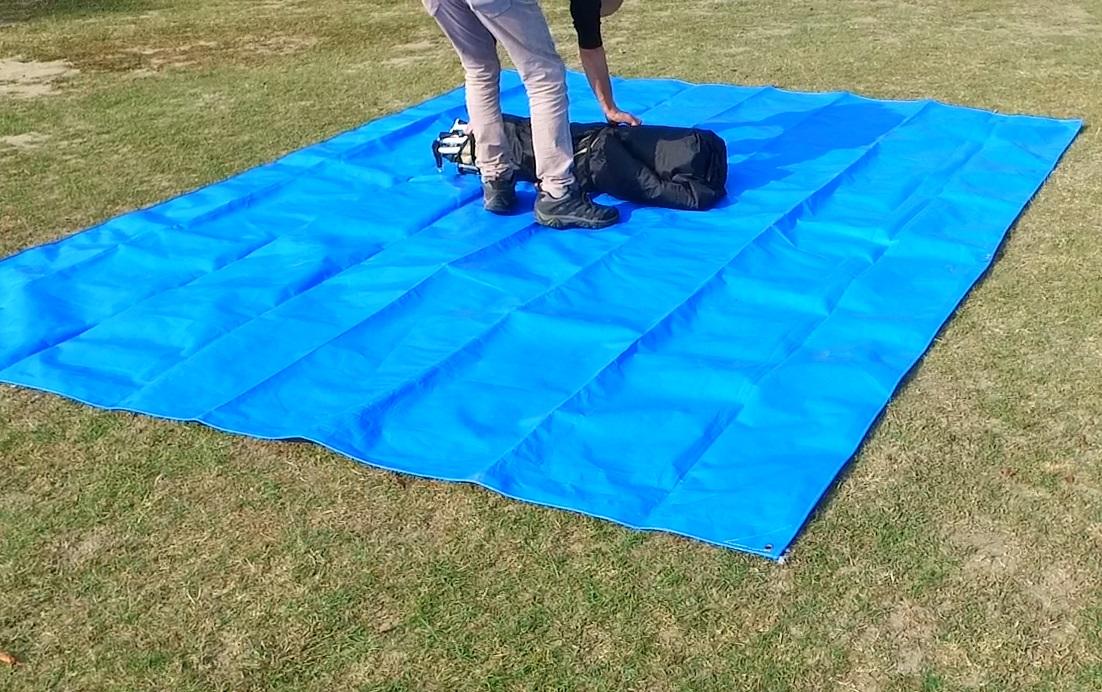 威力屋帳篷通用防磨地布
