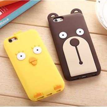 iPhoneX iPhone8/8plus iPhone7/7plus スマホケース アイフォン7/8/6/6sアイフォン7 プラス ケース カバー シリコン 可愛い キャラクター