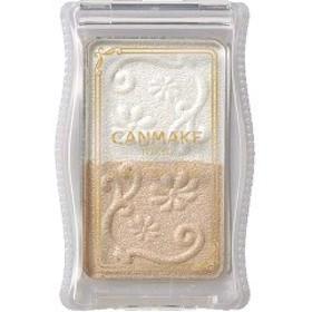 キャンメイク(CANMAKE) グロウツインカラー ホワイトベージュ 01(1コ入)[アイカラー]