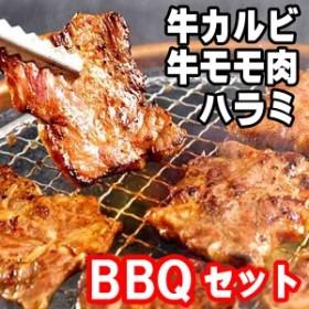 肉 牛肉 焼き肉 焼肉 (バーベキュー BBQ) 業務用お試しセット 牛カルビ ハラミ・さがり モモ肉訳あり 激安 5人前 bbq