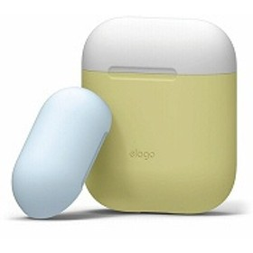 elago(エラゴ) AIRPODS DUO Case(ケース) for AirPods EL_APDCSSCDC_YE Yellow