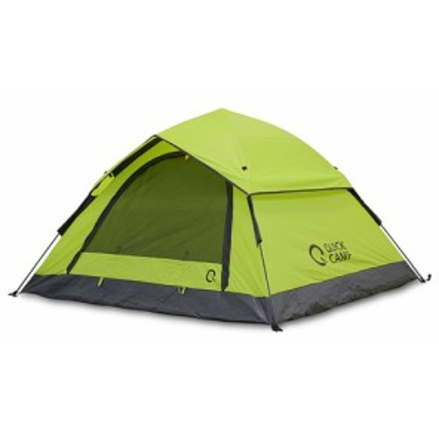 QUICKCAMP クイックキャンプ ワンタッチテント 3人用 QC-OT210 約210cm×190cm×110cm