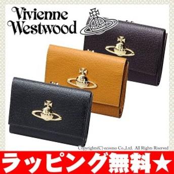 ヴィヴィアン ウエストウッド 財布 がま口 折り財布 レディース