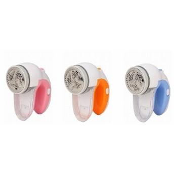 【送料無料】ダブル安全スイッチ付 毛玉取り機 KD-10 ピンク/オレンジ/ブルー WINTECH 大型外刃を採用なのにコンパクト!