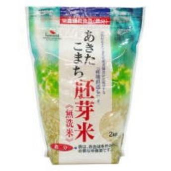 あきたこまち胚芽無洗米(鉄分添加)2kg×5袋(10kg) 胚芽米に鉄分を添加し機能性を向上させた栄養機能食品・お米・穀類