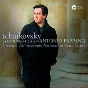 CD / アントニオ・パッパーノ/ローマ・サンタ・チェチーリア国立アカデミー管弦楽団 / チャイコフスキー:交響曲第4番、第5番&第6番「悲愴