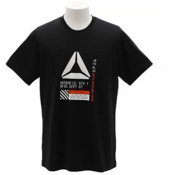 リーボック(REEBOK) ワンシリーズ モックアイレット グラフィックショートスリーブTシャツ EUE57-CX4071 (Men's)