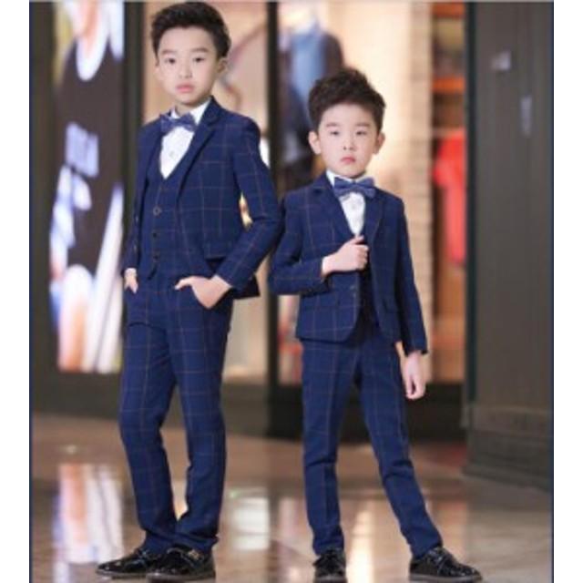 6bc58e6515c27 子供スーツ 2点セット 発表会入学式 スーツ 子供服フォーマル 男の子スーツ キッズ
