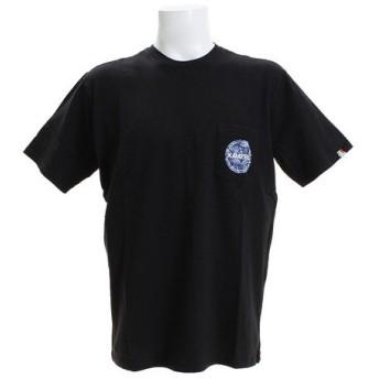 クリフメイヤー(KRIFF MAYER) ブランドロゴポケットTシャツ 柄 1757206-5-BLK (Men's)