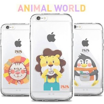 iPhone6S iPhone6 iPhone 6S PLUS iPhoneSE SE iPhone5S iPhone5 アニマル TPU ケース かわいい おしゃれ 6S 6 カバー スマホケース