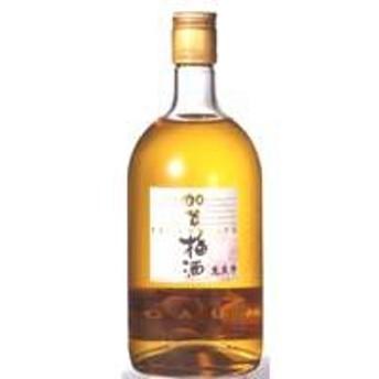日経新聞「何でもランキング」で見事1位に輝いた梅酒 萬歳楽「加賀梅酒」 720ml