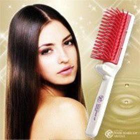ダメージヘア 改善 ふけ おすすめ さらさらヘアになる さらさらヘア スタイリング 美容師さんの艶髪ブラシ 携帯用 ヘアブラシ