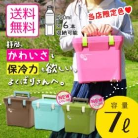 送料無料 熱中症対策グッズ クーラーボックス 小型 クーラーバッグ 日本製【ナチュールクーラー7L】保冷バッグ おしゃれ かわいい