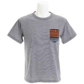 パワー・トゥ・ザ・ピープル(POWER TO THE PEOPLE) メキシカン柄ポケット付きTシャツ 8512102-60NAV (Men's)