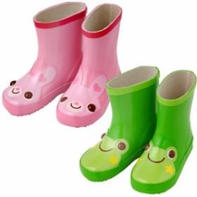うさぎorカエル長靴【レインシューズ】/[赤ちゃん][ベビー][長靴][男の子][女の子][雨具][お出かけ]【95cm】