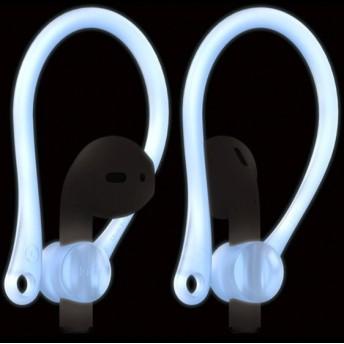 elago(エラゴ) Ear Hook(イヤーフック) for AirPods EL_APDCSTPEH_NB Nightglow Blue(夜光色)