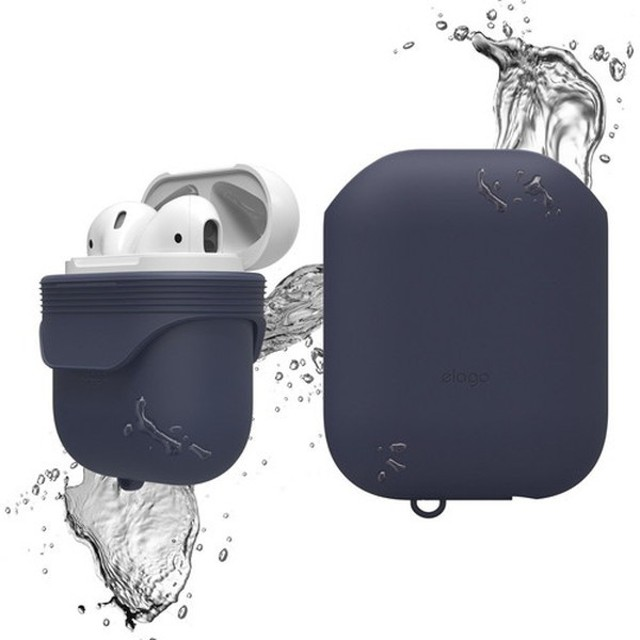 elago(エラゴ) AirPods WaterProof Case(ケース) for AirPods EL_APDCSSCWC_JI Jean Indigo
