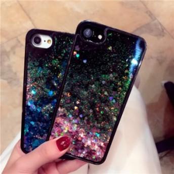 スマホカバー iPhone7/iPhone7/iPhone6s/iPhone6 Plusケース液体流砂キラキラスマホケースアイフォン7プラススマホケース