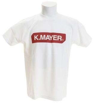 クリフメイヤー(KRIFF MAYER) ブランドロゴTシャツ BOX 1819905-1-WHT (Men's)