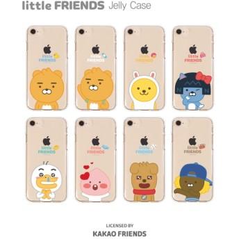 カカオフレンズ【Kakaofriends】 GALAXYケースリトルフレンズゼリーケース携帯カバー アイフォーン おしゃれ可愛い ★iPhone X Galaxy9
