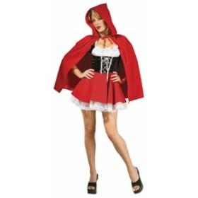 【ハロウィン コスチュームレディース】Red Riding Hood 赤ずきんちゃん イベント・コスプレ・ハロウィン・衣装・学園