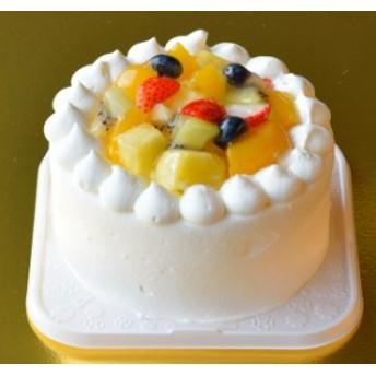 『二人分よりちょっと大きいフルーツショートケーキ』4号サイズ 直径12cm