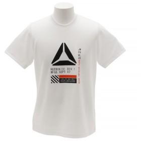 リーボック(REEBOK) ワンシリーズ モックアイレット グラフィックショートスリーブTシャツ EUE57-CX4070 (Men's)