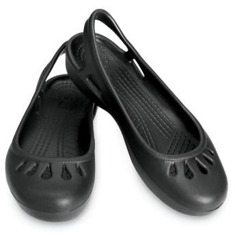 【クロックス公式】 マリンディ フラット Malindi Flat ウィメンズ、レディース、女性用 ブラック/黒 21cm,22cm,23cm,24cm,25cm,26cm flat フラットシューズ バレエシューズ ぺたんこシューズ