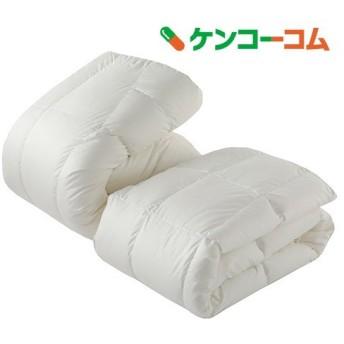 東京西川 デュエット羽毛布団 シングル ホワイト KA08167072W ( 2枚組 )/ 東京西川