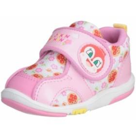 ベビーシューズ アンパンマン B08 ファーストシューズ ムーンスター つま先のゆったりした、子どもの足の形に合わせた靴型 プレゼントに