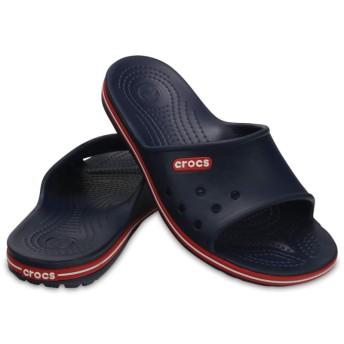 【クロックス公式】 クロックバンド 2.0 スライド Crocband II Slide ユニセックス、メンズ、レディース、男女兼用 ブルー/青 22cm,23cm,24cm,25cm slide スライドサンダル スポーツサンダル シャワーサンダル サンダル