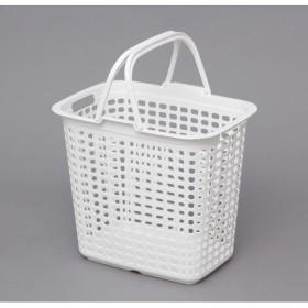 アイリスオーヤマ ランドリーバスケット ピュアホワイト LB-L