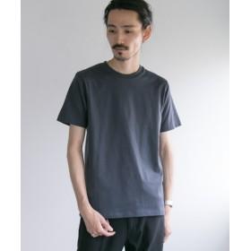 【50%OFF】 アーバンリサーチ コーマ天竺 ショートスリーブ Tシャツ メンズ BLUEGRAY S 【URBAN RESEARCH】 【セール開催中】