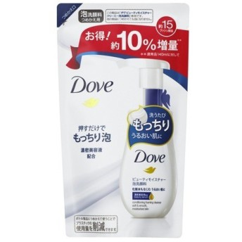 (企画品)ダヴ ビューティモイスチャー クリーミー泡洗顔料 つめかえ用 増量 ( 155mL )/ ダヴ(Dove)