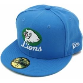 即納 NEWERA ニューエラ キャップ NPB CLASSIC 59FIFTY 日本プロ野球 クラシック 西武ライオンズ エアフォースブルー(11121862)