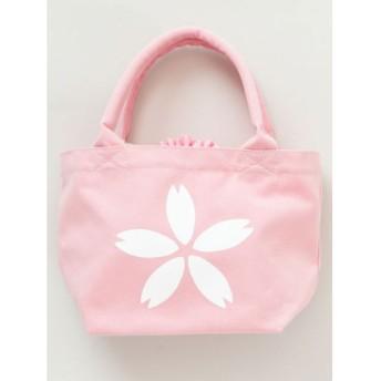 CAYA カヤ くるみ巾着ミニトートバッグ 桜